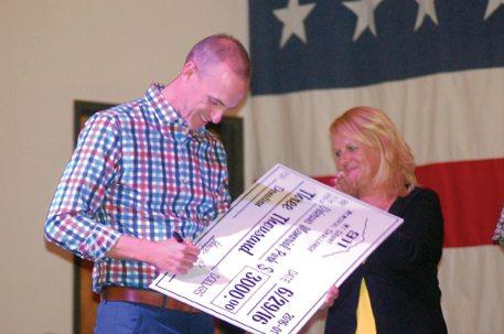 Money Raised for Veterans Park