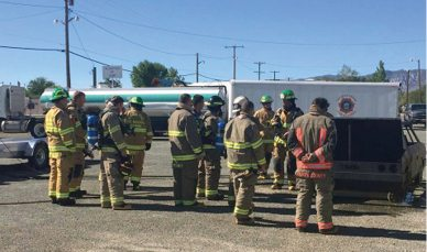 Nevada firefighter's association meeting held in hawthorne