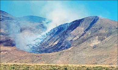 Wildfire Contained Near Gabbs