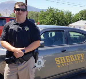 Heidi Bunch - Mineral County Sheriff's Deputy Robert Pulley is happy with the support local officers have received within the community after recent tragic events involving police across the nation.