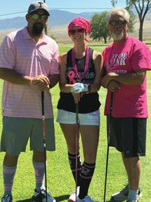 Walker Lake Golf Course Plays Host to Breast Cancer Rally
