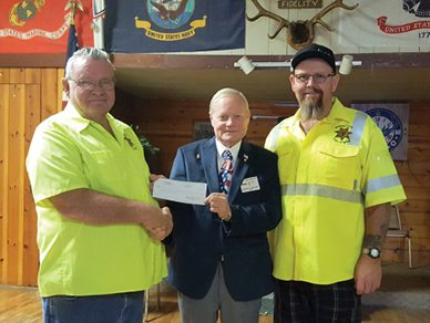 Elks Donate to SAR