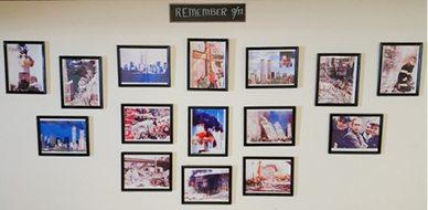 9/11 Display at VFW