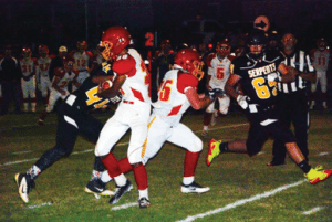 Jason Cardenas - Whittell controlled the tempo of Friday night's game from opening kick and knocked off Mineral County 60-18.