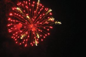 Fireworks Testing Lights up Hawthorne Skies