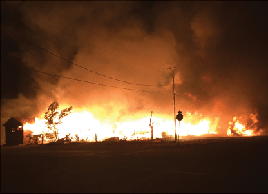 Mina Recovering After Large, Deadly Blaze