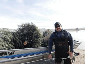 Local man doing his part to protect Weber fish