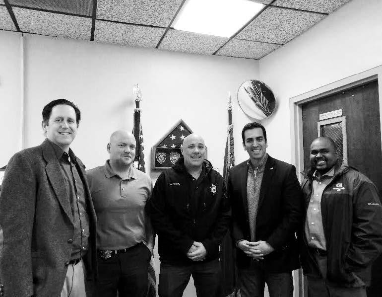 4th Congressional District representative visits Hawthorne