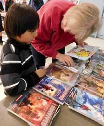 Schurz Elementary School hosts literacy night