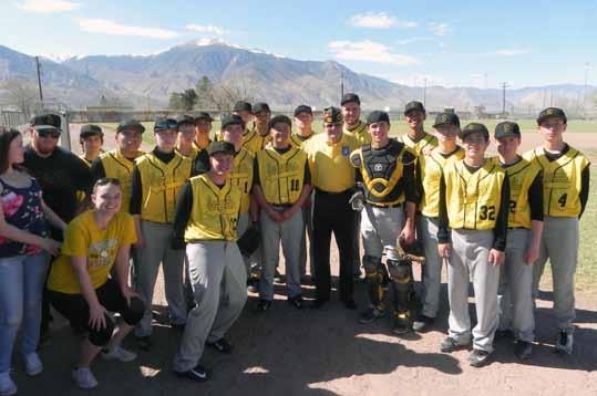 Serpent baseball team wins three