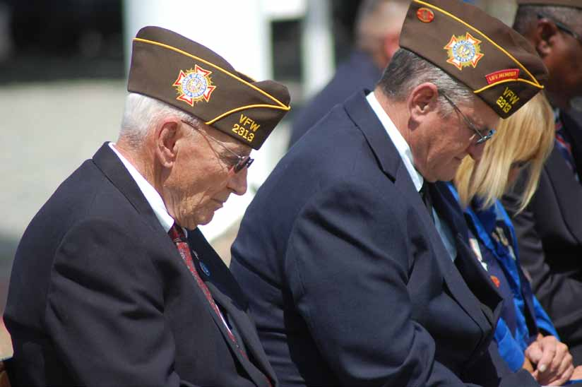 America's heroes honored at Hawthorne Memorial Day service