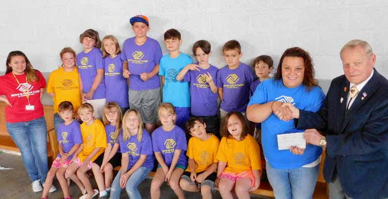 Local Boys & Girls Club gets big donation from Elks
