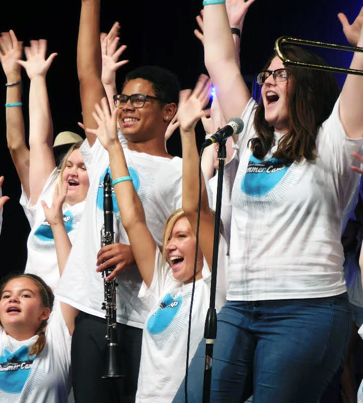 Local teens take part in Young Americans workshop