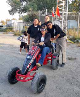Walker River Police Explorers Busy During Pinenut Festival