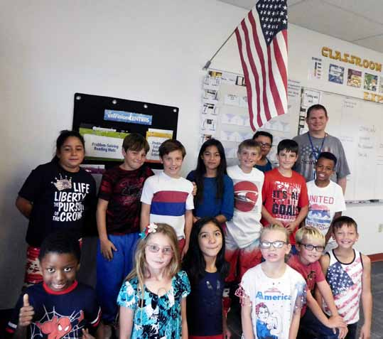 Hawthorne Elementary Students Participate in 'Week of Respect'