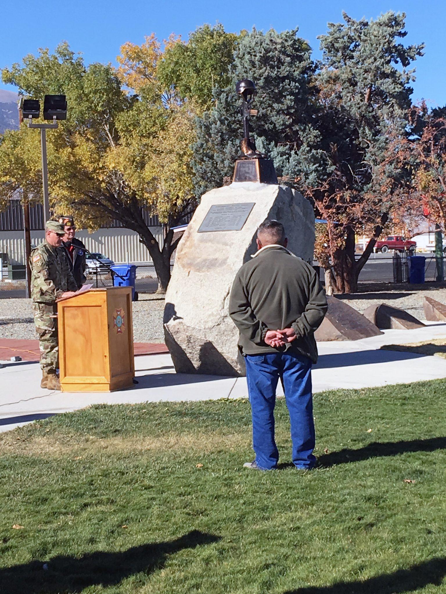 Memorial Installed to Honor Fallen Marines
