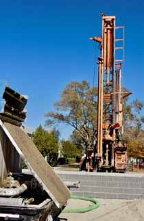 Geothermal Drilling Continues at Mineral County High School