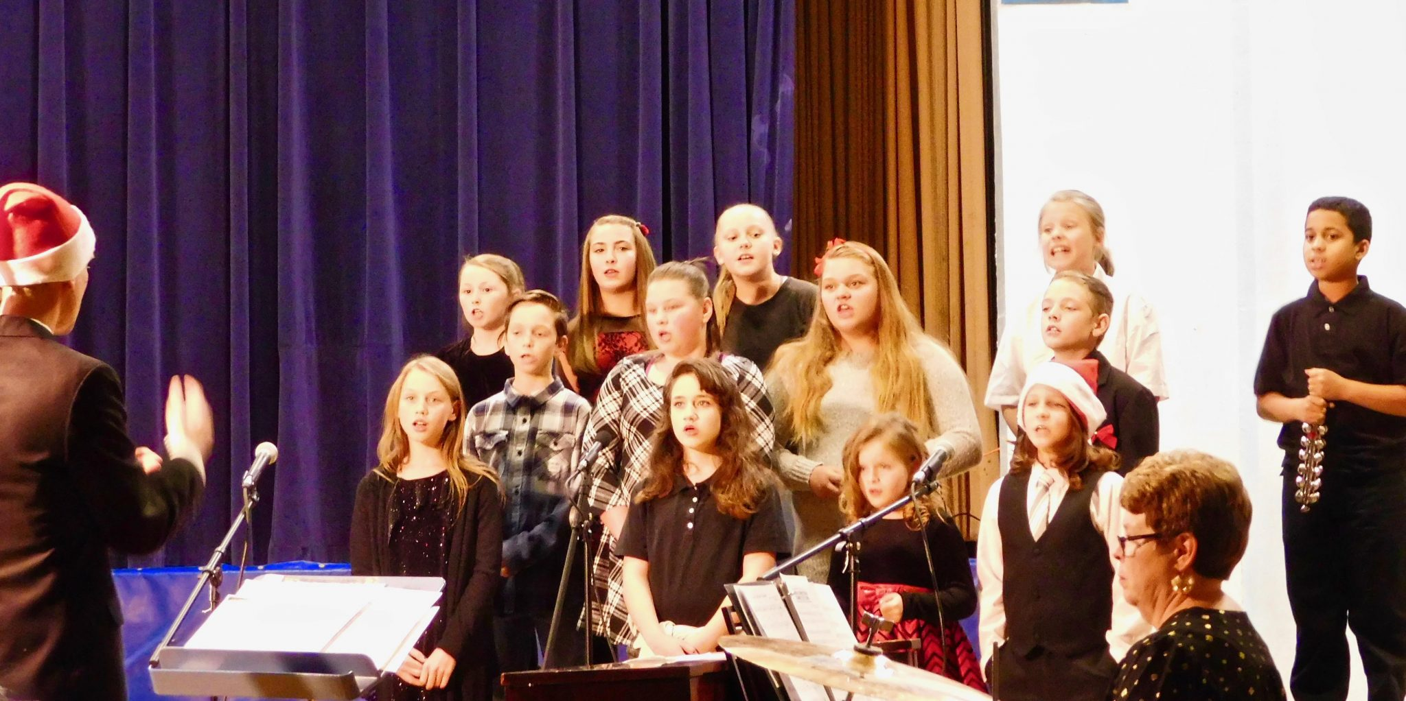 Mineral County Students Perform Winter Concert