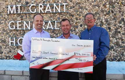 County Hospital Awarded Large Grant