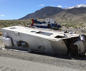 Motorhome Driver Killed in Accident near Walker Lake Identified