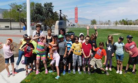 Hard Working Third Graders Rewarded with 'Bike Day'