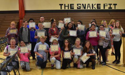 Junior High Students Recognized