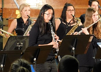 Band Plays Year's Final Concert