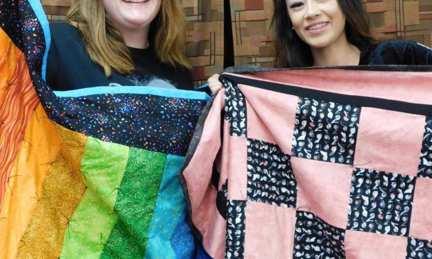 Students Master Sewing Skills