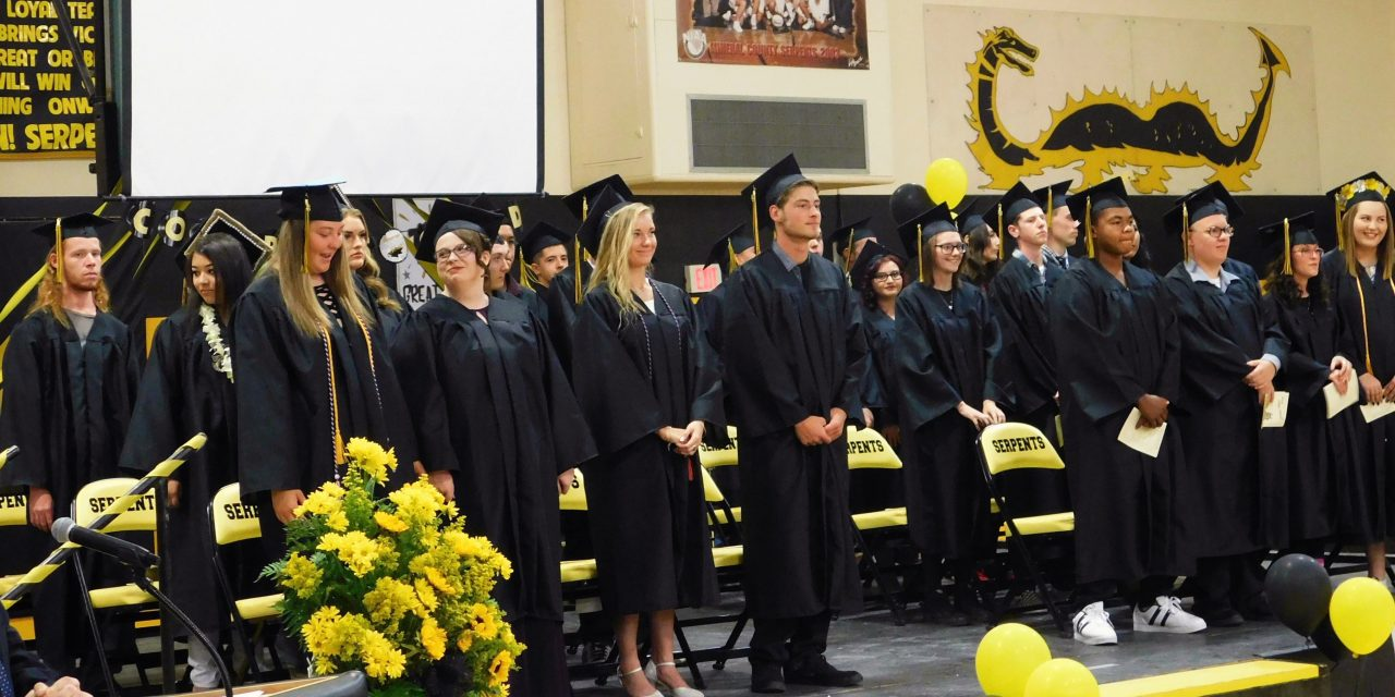 Mineral County High Seniors Graduate