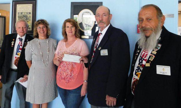 Elks Donate to School District's Angel Fund