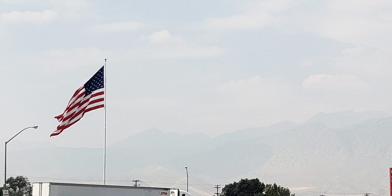 Air Quality Deemed Unhealthy Due to Nearby Wildfires