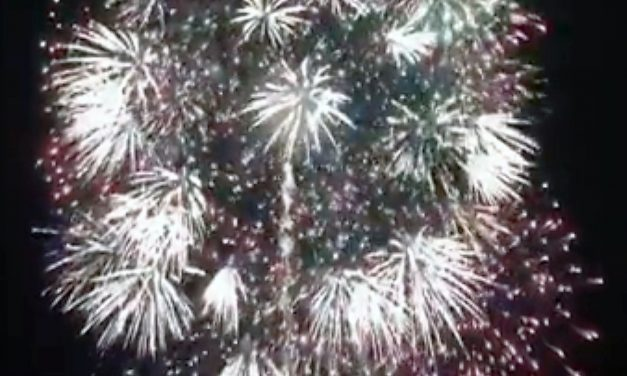 Fireworks Displays Light up Hawthorne