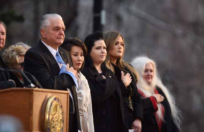 Sisolak takes Nevada's helm as first Democratic governor in two decades