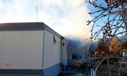 Trailer Fire Extinguished