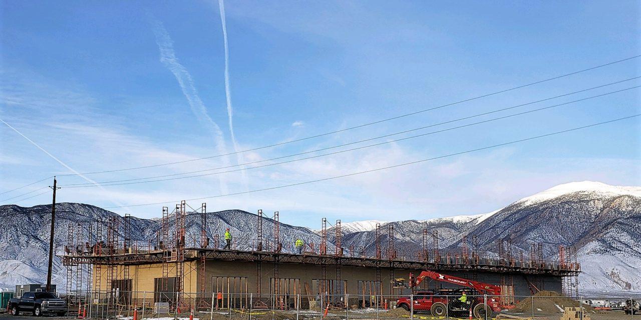 Construction progressing on new Hawthorne casino, sports bar