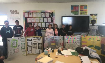 Hawthorne Elementary students take part in science fair