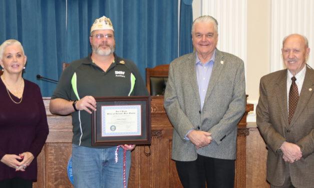 NDVS recognizes Carson City veteran, color guard