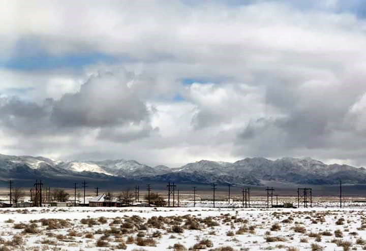 Snow blankets Mineral County