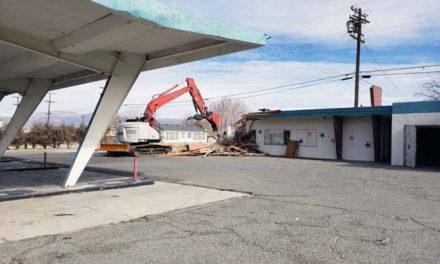 Patriot's Plaza razed after property deemed uninhabitable