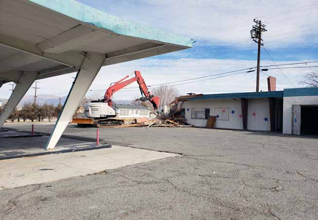 Patriot's Plaza razed after property deemed uninhabitable