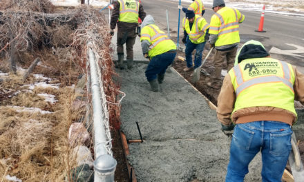 Mina sidewalks getting much-needed facelift