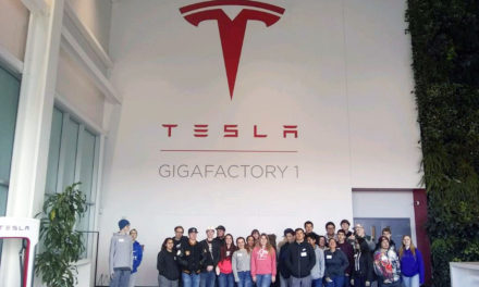 Students tour Tesla Gigafactory