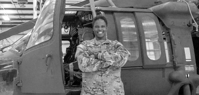 Nevada Army Guard graduates first African-American female UH-60 Black Hawk pilot