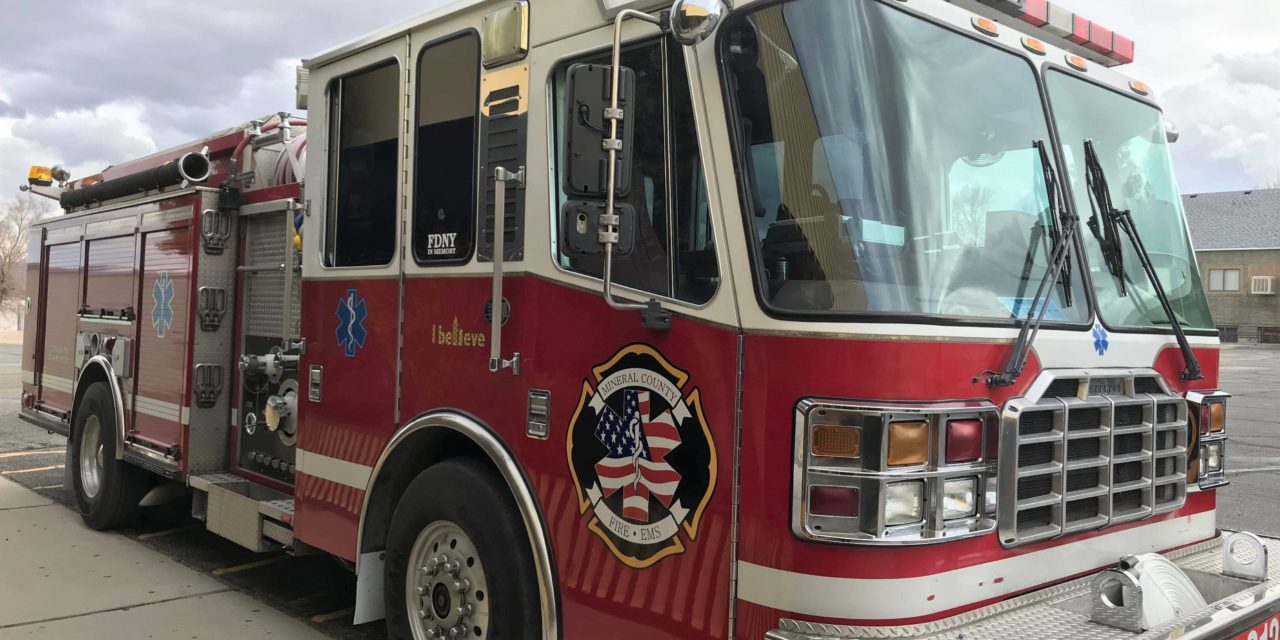 MCFD Purchases Truck