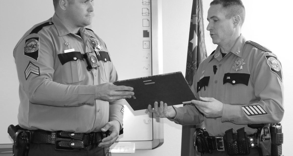 NHP recognizes former MCSO deputy