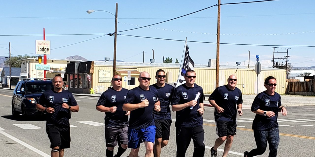 Officers honor their own with run