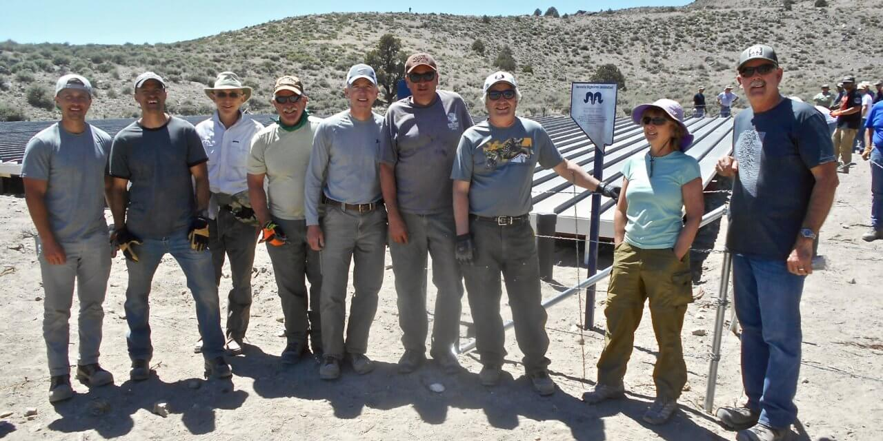 Guzzler installed in hopes of preventing bighorn sheep deaths