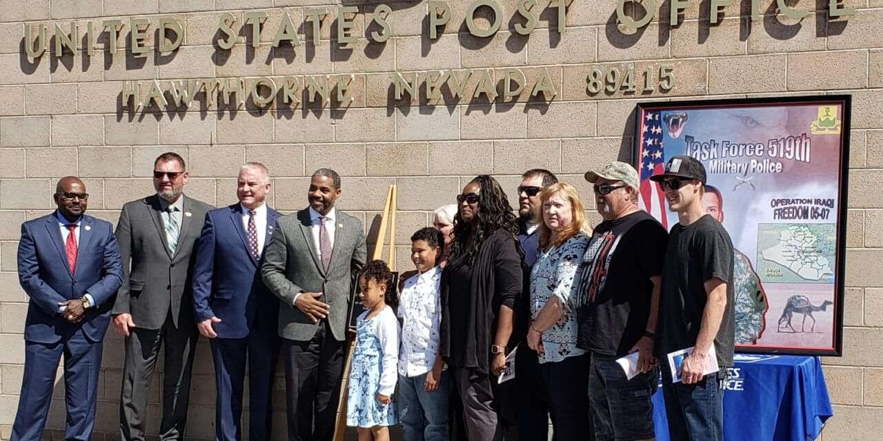 Post Office renamed after fallen local soldier