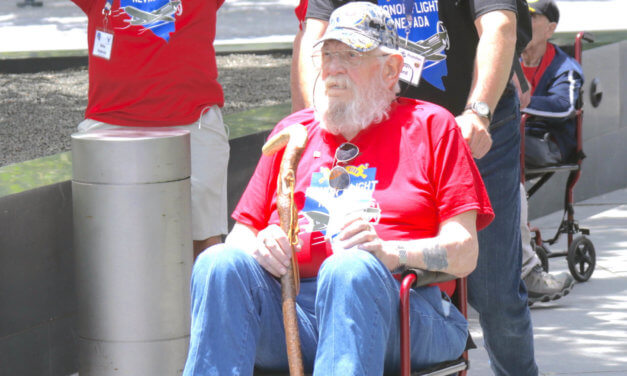 Hawthorne man returns from Honor Flight trip