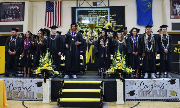 Mineral County High School graduates 34 seniors